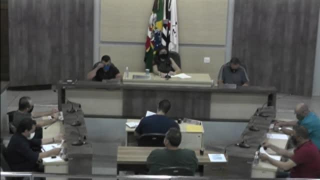 15ª Sessão Ordinária da 18ª Legislatura da Câmara Municipal de Ariranha