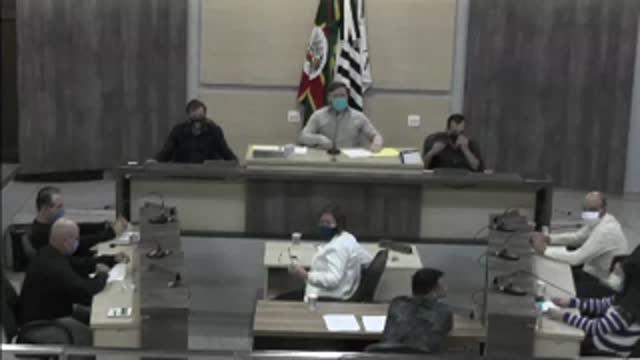66ª Sessão Ordinária da 17ª Legislatura da Câmara Municipal de Ariranha