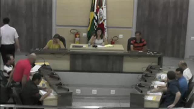 4ª Sessão Ordinária da 17ª Legislatura da Câmara Municipal de Ariranha