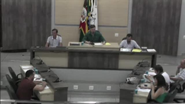 55ª Sessão Ordinária da 17ª Legislatura da Câmara Municipal de Ariranha
