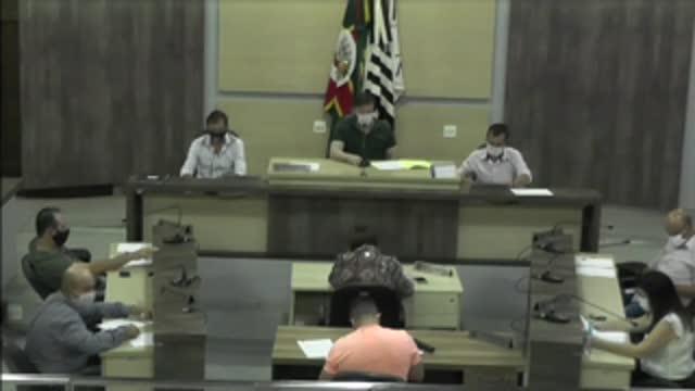 65ª Sessão Ordinária da 17ª Legislatura da Câmara Municipal de Ariranha
