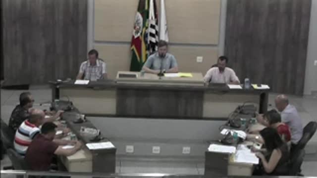 52ª Sessão Ordinária da 17ª Legislatura da Câmara Municipal de Ariranha