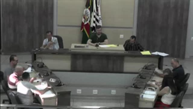 59ª Sessão Ordinária da 17ª Legislatura da Câmara Municipal de Ariranha