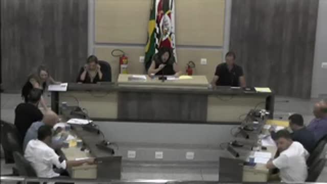 8ª Sessão Ordinária da 17ª Legislatura da Câmara Municipal de Ariranha