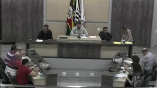 51ª Sessão Ordinária da 17ª Legislatura da Câmara Municipal de Ariranha