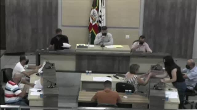 75ª Sessão Ordinária da 17ª Legislatura da Câmara Municipal de Ariranha