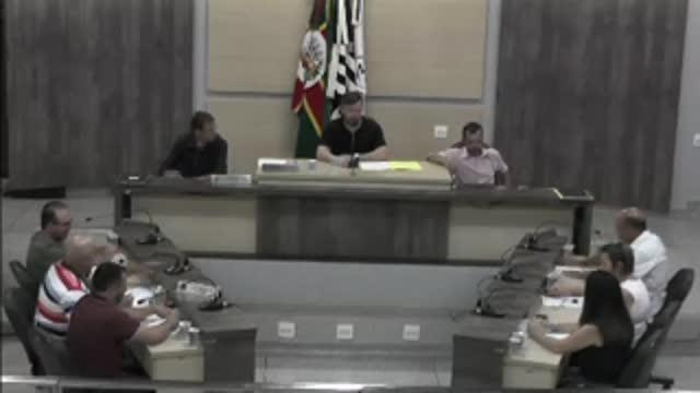 58ª Sessão Ordinária da 17ª Legislatura da Câmara Municipal de Ariranha