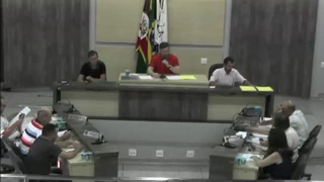 56ª Sessão Ordinária da 17ª Legislatura da Câmara Municipal de Ariranha