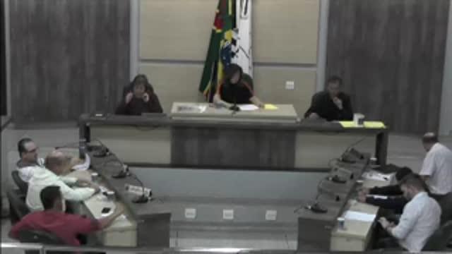 33ª Sessão Ordinária da 17ª Legislatura da Câmara Municipal de Ariranha