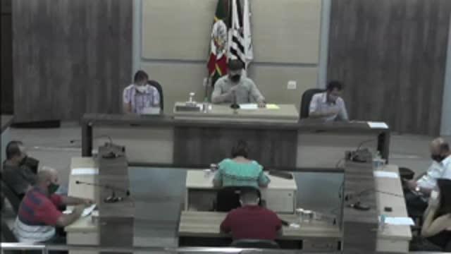 71ª Sessão Ordinária da 17ª Legislatura da Câmara Municipal de Ariranha