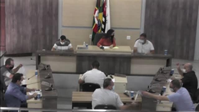 5ª Sessão Extraordinária da 18ª Legislatura da Câmara Municipal de Ariranha
