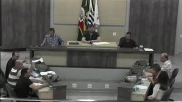 50ª Sessão Ordinária da 17ª Legislatura da Câmara Municipal de Ariranha