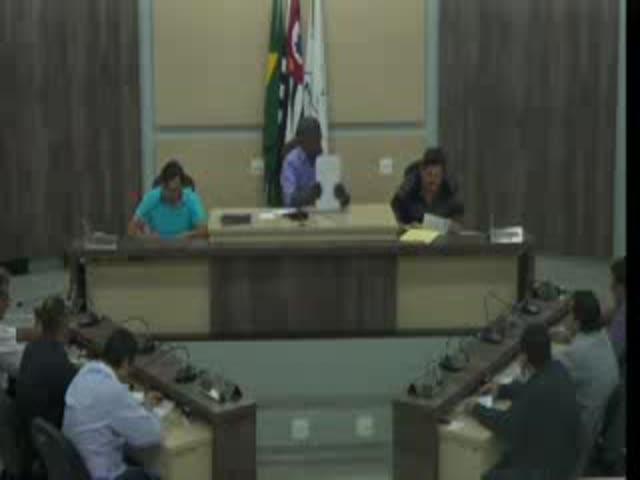 38ª Sessão Ordinária Legislativa  (Parte 1)