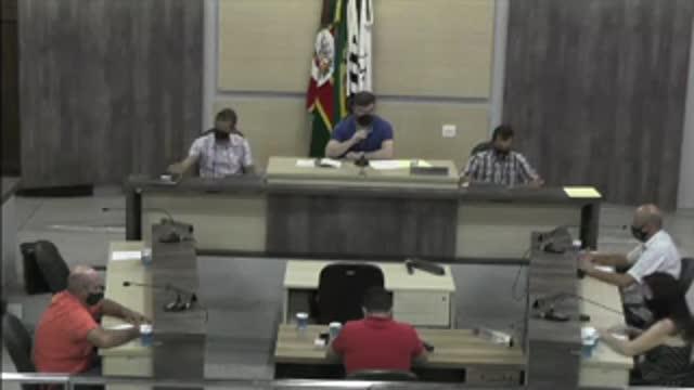 76ª Sessão Ordinária da 17ª Legislatura da Câmara Municipal de Ariranha