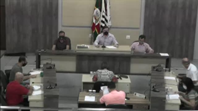 70ª Sessão Ordinária da 17ª Legislatura da Câmara Municipal de Ariranha