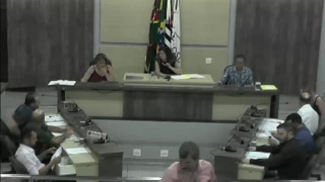 38ª Sessão Ordinária da 17ª Legislatura da Câmara Municipal de Ariranha