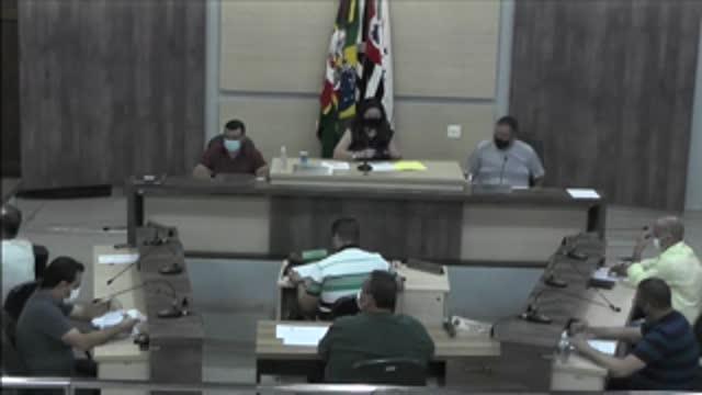 13ª Sessão Ordinária da 18ª Legislatura da Câmara Municipal de Ariranha