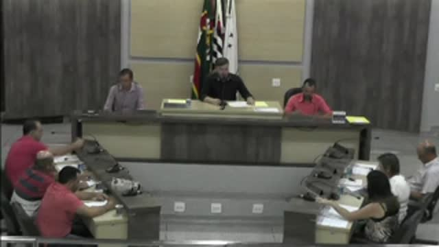 43ª Sessão Ordinária da 17ª Legislatura da Câmara Municipal de Ariranha