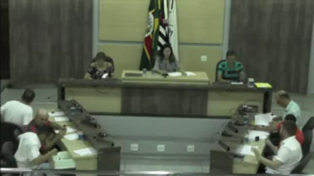 16ª Sessão Ordinária da 17ª Legislatura da Câmara Municipal de Ariranha