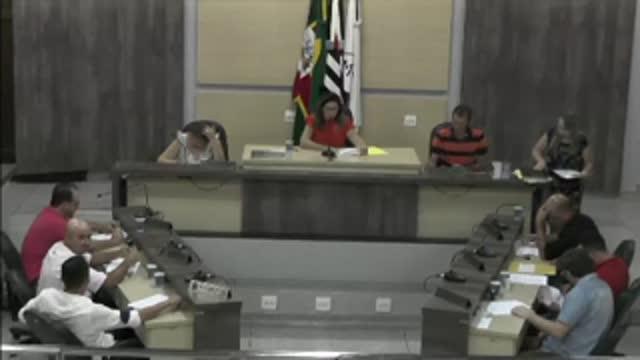 23ª Sessão Ordinária da 17ª Legislatura da Câmara Municipal de Ariranha