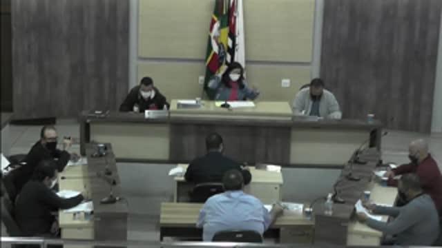 11ª Sessão Ordinária da 18ª Legislatura da Câmara Municipal de Ariranha