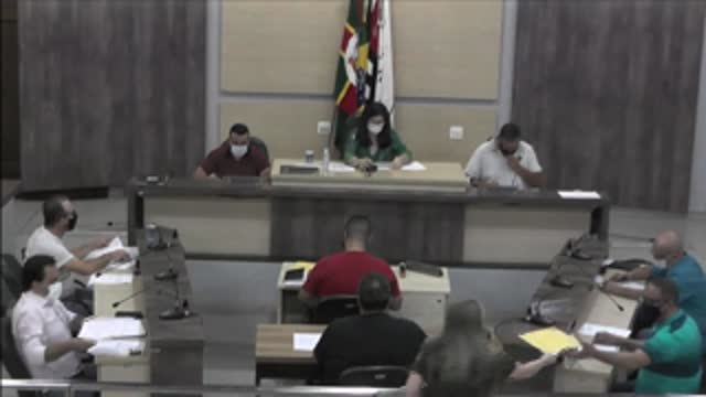 12ª Sessão Ordinária da 18ª Legislatura da Câmara Municipal de Ariranha