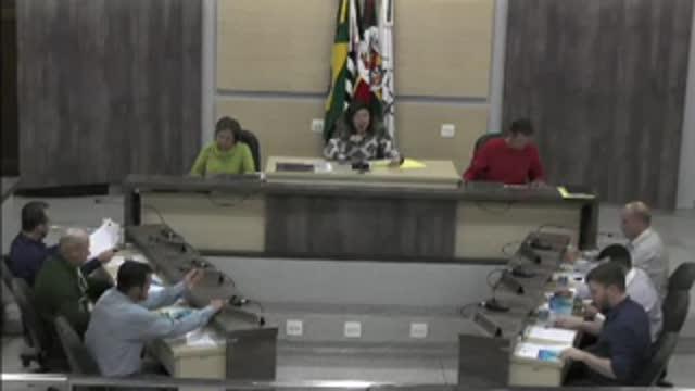12ª Sessão Ordinária da 17ª Legislatura da Câmara Municipal de Ariranha